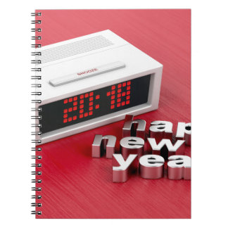 Happy New Year 2018 Notebooks