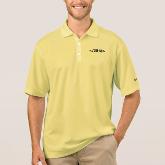 Happy New Year 2018 Programmer Code Polo Shirt