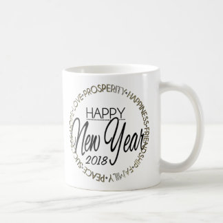 Happy New Year 20XX Coffee Mug
