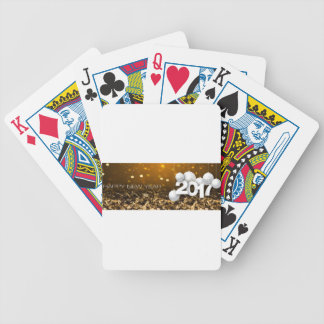 Happy-New-Year #2 Bicycle Playing Cards