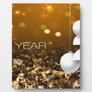 Happy-New-Year #2 Plaque