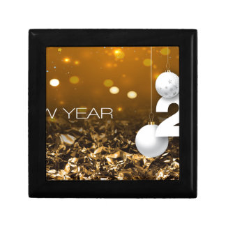 Happy-New-Year #2 Small Square Gift Box