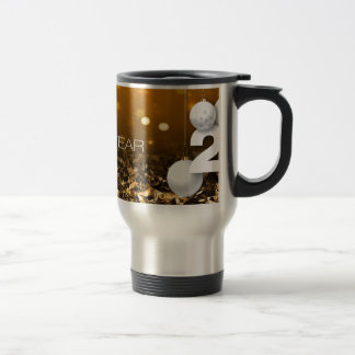 Happy-New-Year #2 Travel Mug