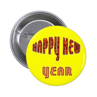 Happy New Year Pins