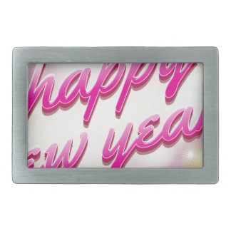 Happy-New-Year Balloons Belt Buckles