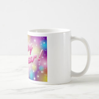 Happy-New-Year Balloons Coffee Mug