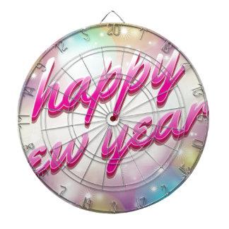 Happy-New-Year Balloons Dartboard