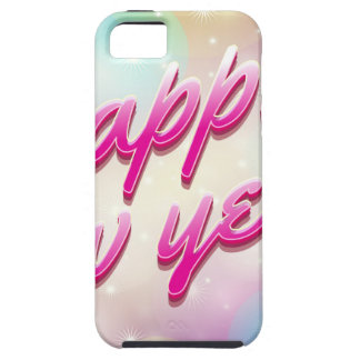 Happy-New-Year Balloons iPhone 5 Cover