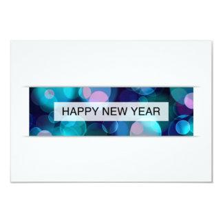 happy new year (bokeh) custom invite