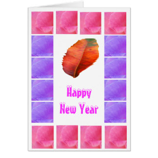 Happy New Year - Buy Blank or Add Greeting Greeting Card
