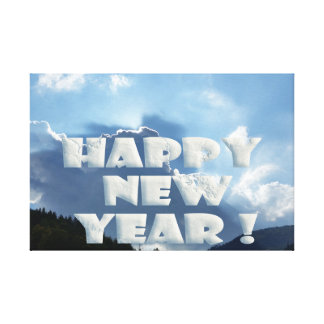 Happy New Year! Canvas Print