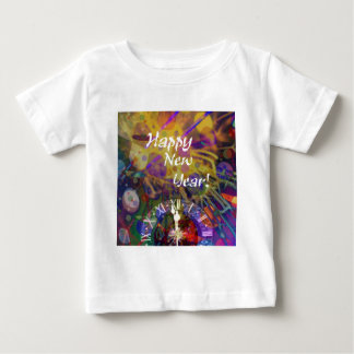 Happy New Year celebration Baby T-Shirt