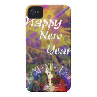Happy New Year celebration iPhone 4 Case