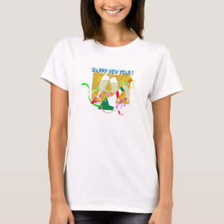 Happy New Year Champagne T-Shirt