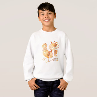 Happy New Year Chinese 2017 Rooster Sweatshirt