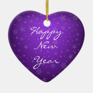 Happy New Year Custom Ornament