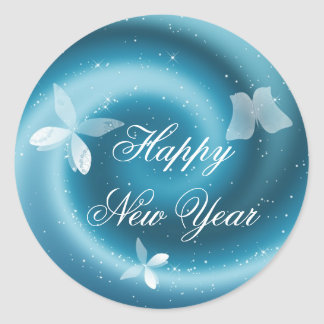 Happy New Year Customizable Sticker