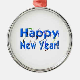 Happy New Year Ornaments