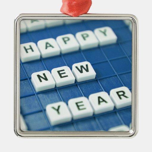 Happy New Year! Ornament
