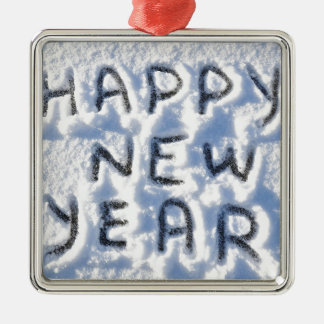 Happy New Year! Christmas Ornament