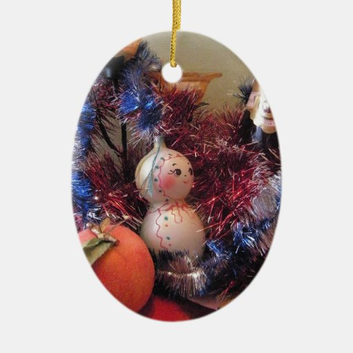 Happy New Year Christmas Tree Ornament