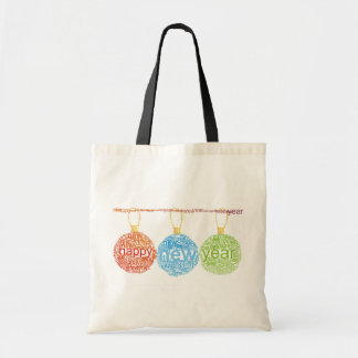 Happy New Year Decorations Tote Bag