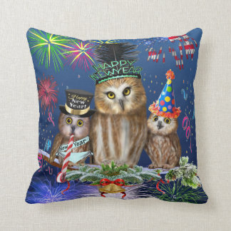 HAPPY NEW YEAR FROM ALL OF US! CUSHION
