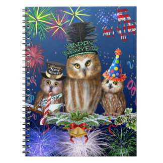 HAPPY NEW YEAR FROM ALL OF US! NOTEBOOK