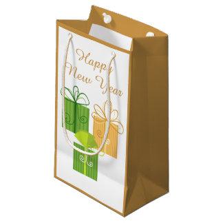 Happy New Year Gift Bag Small Gift Bag