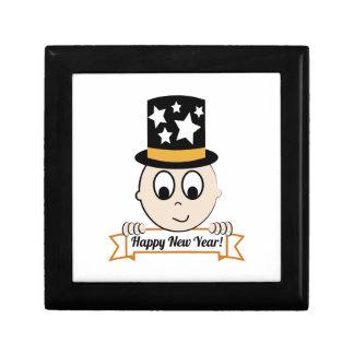 Happy New Year! Keepsake Boxes