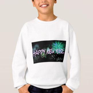 Happy New Year letters Sweatshirt
