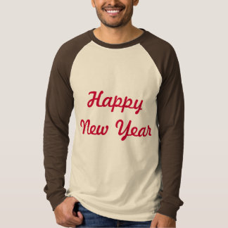 happy new year logo t-shirt design
