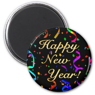 """Happy New Year!"" magnet"