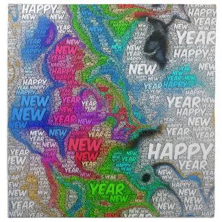 happy new year napkin