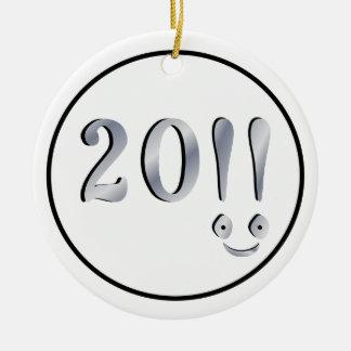 Happy New Year Ornaments
