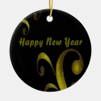 Happy New Year Ornament