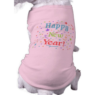 Happy New Year Pet Clothing