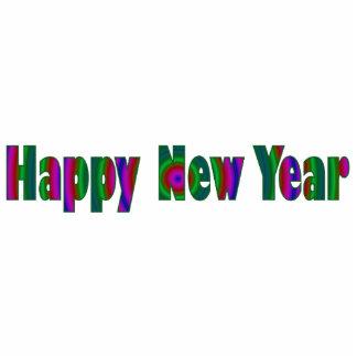 Happy New Year Photo Cutout