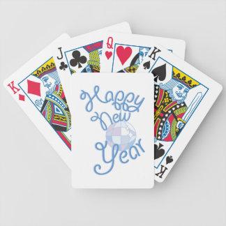 Happy New Year Poker Deck