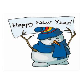 Happy New Year! - Postcard