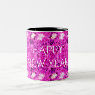Happy New Year Ringer Mug