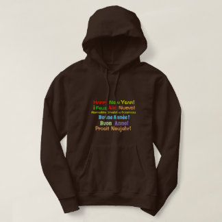 Happy New Year Sweater 6 languages
