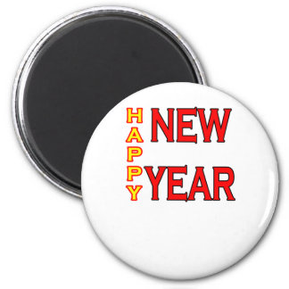 Happy New Year The MUSEUM Refrigerator Magnets