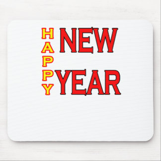 Happy New Year The MUSEUM Mouse Pad
