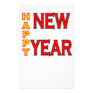 Happy New Year The MUSEUM Stationery