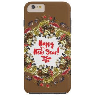 Happy New Year Tough iPhone 6 Plus Case