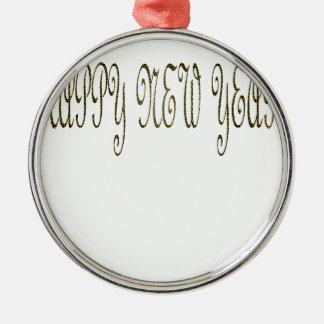 Happy New Year with Motif Snake Ornament