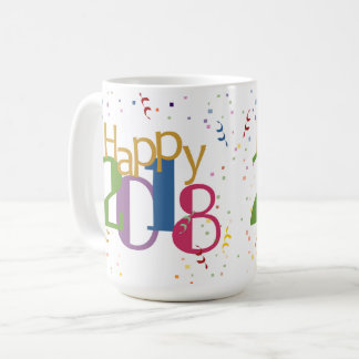 Happy New Years 2018 Mug