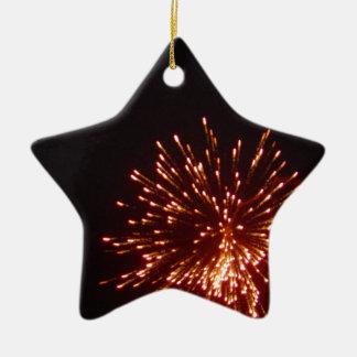 Happy New Years! Ceramic Star Decoration
