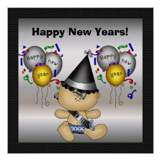 Happy New Years Poster